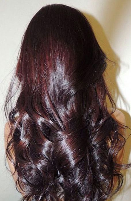 20 Trending Black Hairstyles For Women In 2020 In 2020 Cherry Hair Colors Cherry Hair Hair Color Dark