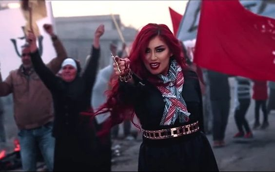 "Helly Luv, a 27-year-old singer of Kurdish descent, who has been placed on a Daesh ""most wanted"" list, is taking a stand for what she believes."