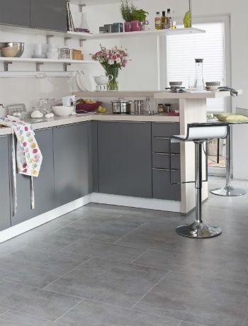 29 Kitchen Flooring Ideas Design Grey Kitchen Floor Kitchen