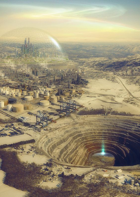 evgeny kazantsev foresees the integration of technology in the real world #Sci-fi #fantasy