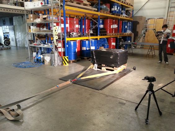 Our Anti-Slip-Floors are officially tested by Fraunhofer Institute and DEKRA