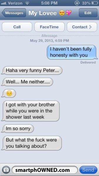 Fake boyfriend text