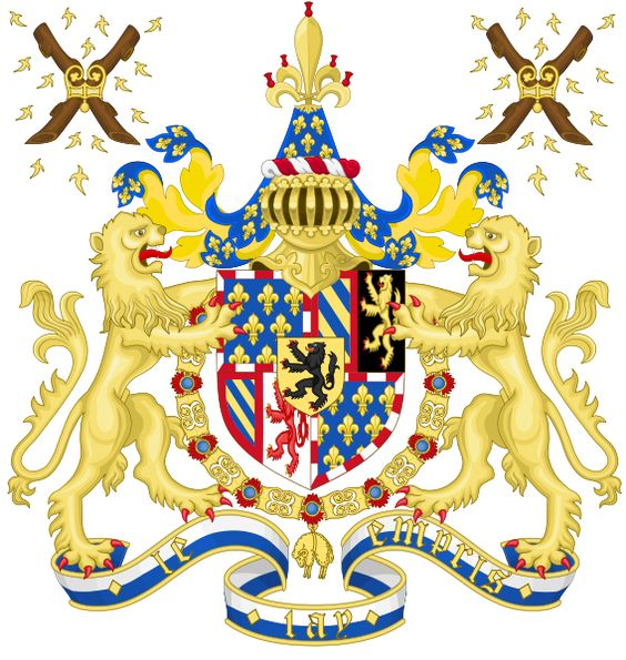 Coat of Arms of Charles the Bold, Duke of Burgundy