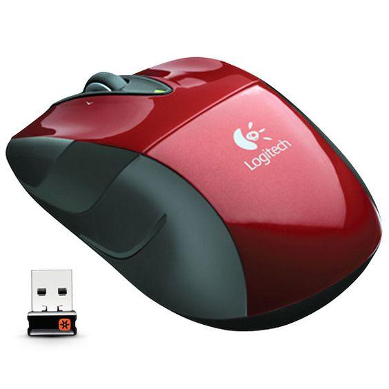 Logitech M525 - Mouse Sem Fio Laser 1000dpi com Nano Receptor USB