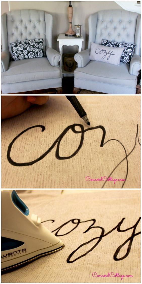 Perfect DIY Set Pillows
