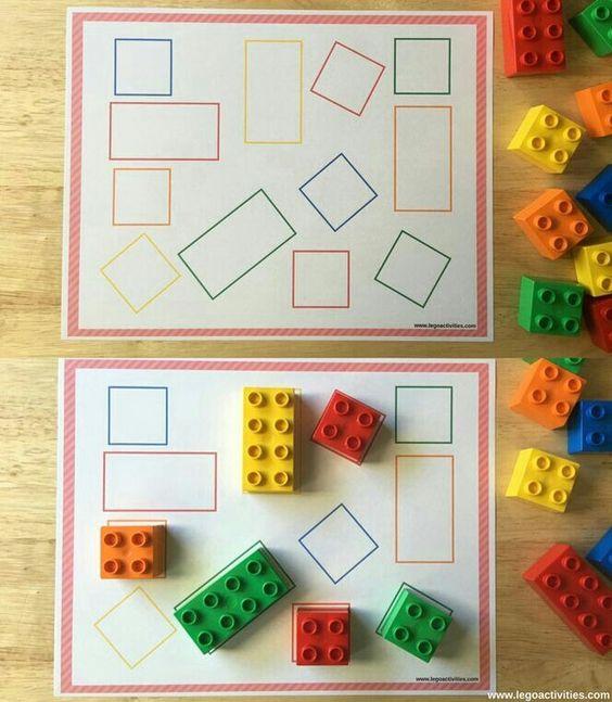 Развивающие игры с конструктором Лего. | OK.RU