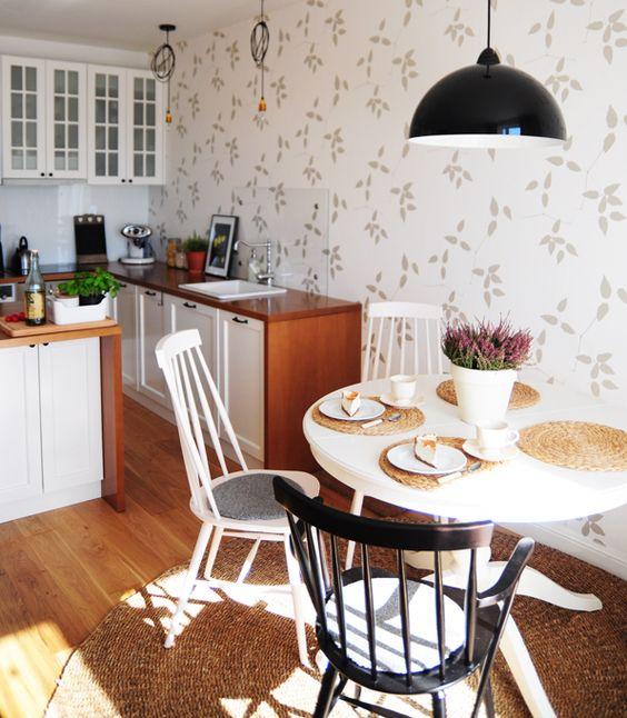 jasne mieszkanko – od kuchni  Ideas, Apartments and Kitchens -> Kolor Kuchni Do Jasnych Mebli