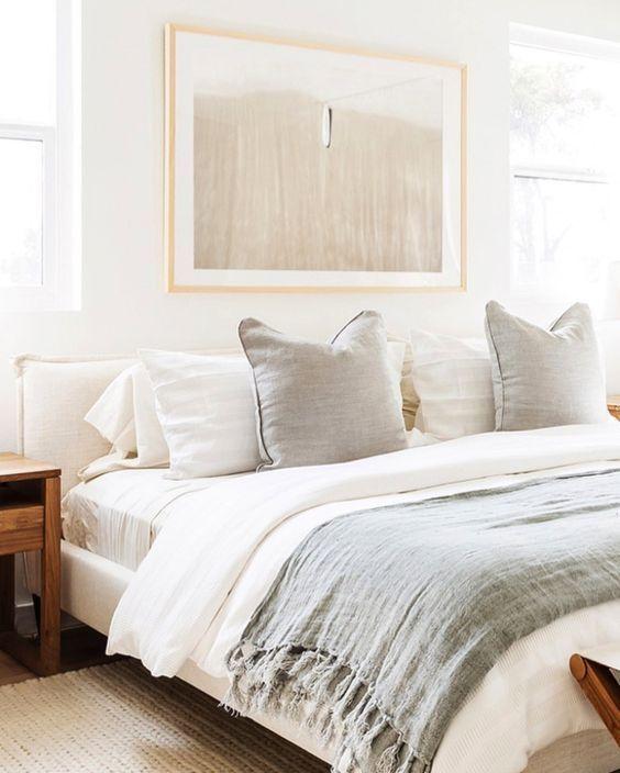21 Ideas How To Decorate Your Bedroom Lavorist In 2020 Serene Bedroom Neutral Bedroom Decor Home Decor Bedroom