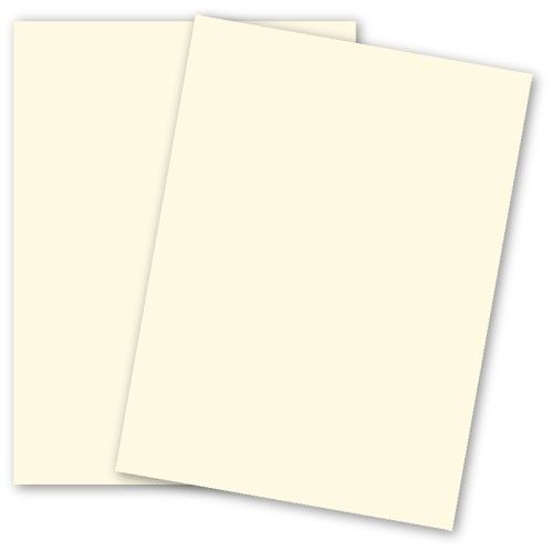Basis Colors 8 5 X 11 Paper Ivory 28 70 Text 50 Pk Cardstock Paper Paper Card Stock