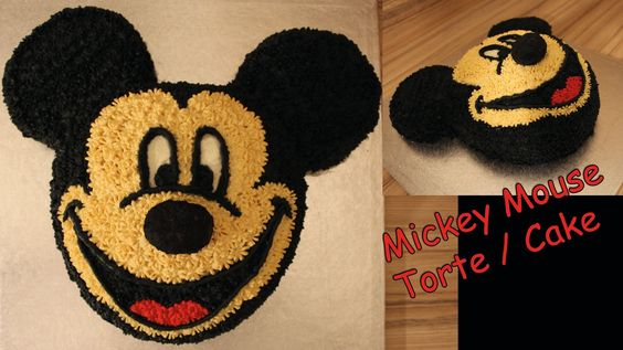 Mickey Mouse Torte / Cake 3D selber machen Anleitung Micky Maus Wunderhaus