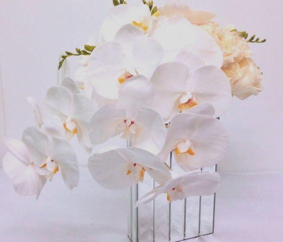 White Mirrored Orchids, GabrielaWakeham.com $255