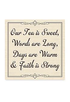 New View Southern Sweet Tea Plaque