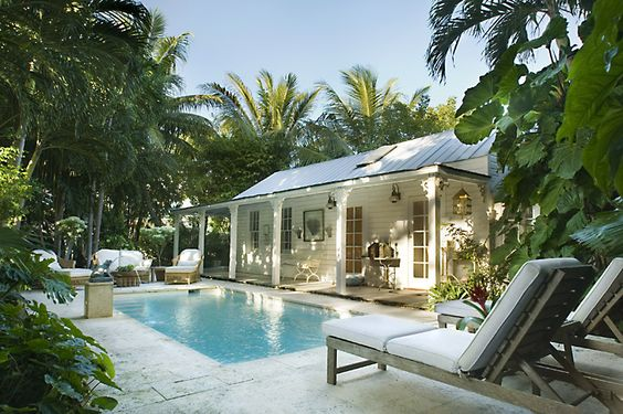 Key West Style Backyards :  beaches and more landscape design key west landscapes keys design