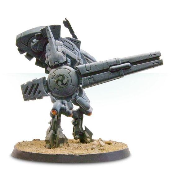 Tau Battlesuit Commander Shas'o R'alai with Drones