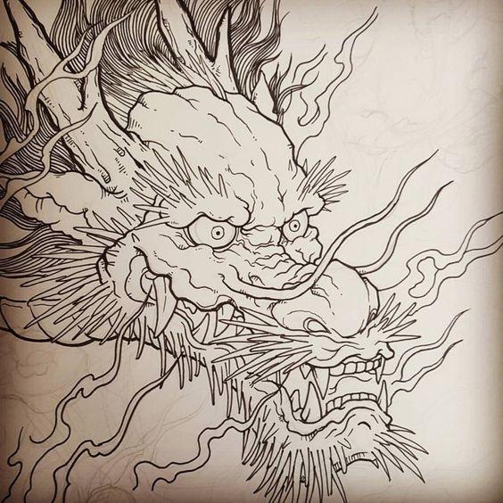Pin De 0973381422 En Hinh Xăm Rồng Tatuajes De Dragones Japoneses Tatuajes Dragones Tatuaje De Dragon