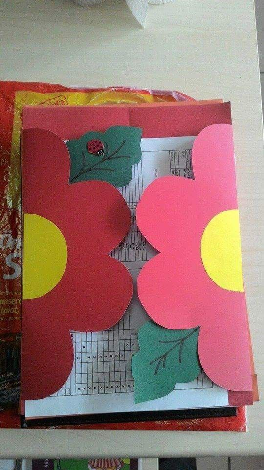Folders Cards Handmade School Diy