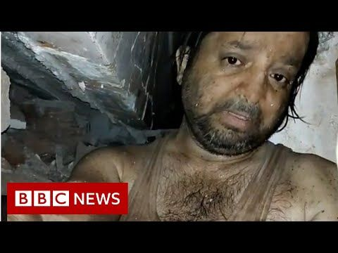 Mumbai Collapse The Man Who Filmed His Ordeal Under Rubble Bbc News In 2020 Bbc News Bbc Film