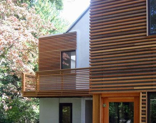A Unique Cedar Siding Natural Wood Siding Pinterest