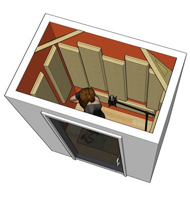 Astounding Primacoustic Tips On Building A Vocal Booth Estudio Pinterest Largest Home Design Picture Inspirations Pitcheantrous