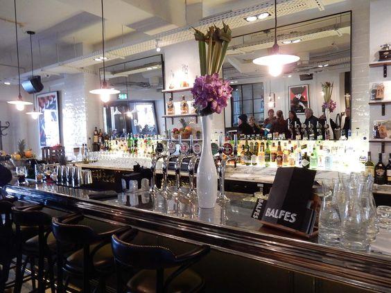 Balfes Restaurant - Interior