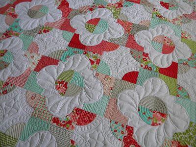 Jenny's Doodling Needle: Kristie's Quilt