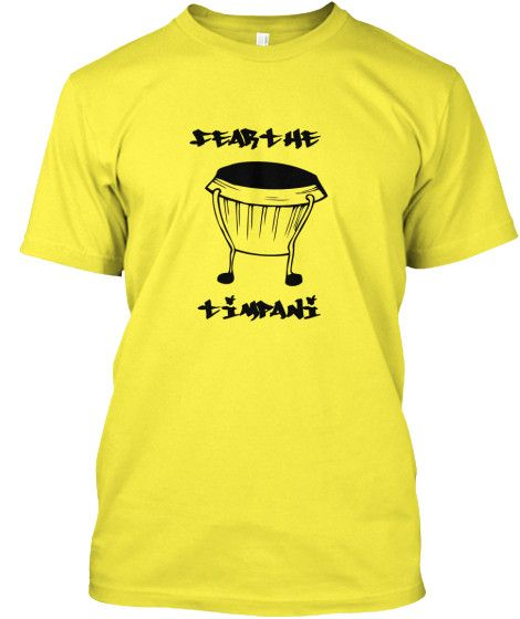Fear the Timpani - Limited Edition Tee