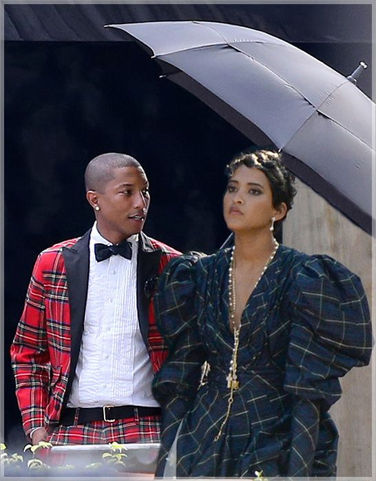 Pharrell Williams and Helen Lasichanh wedding day ...