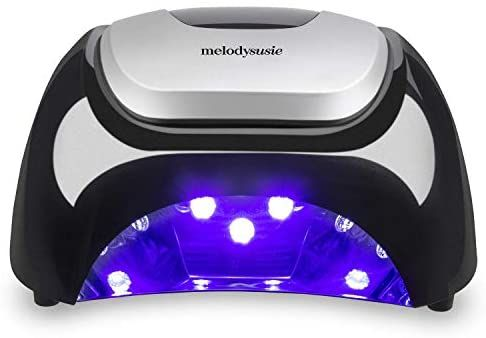 Amazon Com Melodysusie Led Nail Lamp Professional Led Gel Nail Dryer Nail Light With 3 Timer Controls Super Chi Led Nail Lamp Uv Nail Lamp Uv Gel Nail Polish