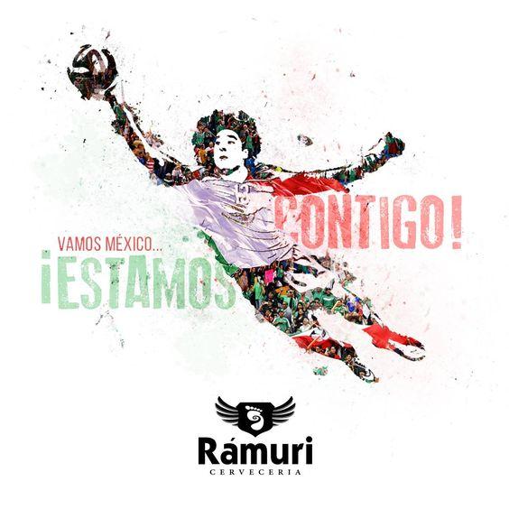 ¡Rámuri está con la selección!  Para que se motiven y jueguen mejor, por cada gol que México meta, Rámuri te regala otra ronda de tu cerveza favorita.  ¡Vamos México, queremos que se luzcan!  #ApoyoTricolor #LaVerde #ElTRI #SiSePuede #VamosMexico #ContigoSiempre #Mexico #creoenTRI #WC2014 #MundialFIFA #Brasil2014 #Mundial #WorldCup #CervezaArtesanal #Ramuri #CroaciaMexico