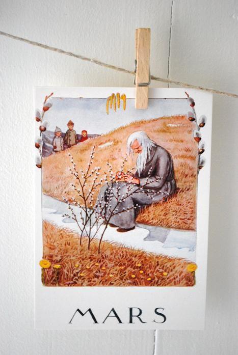 Elsa Beskow Mars:
