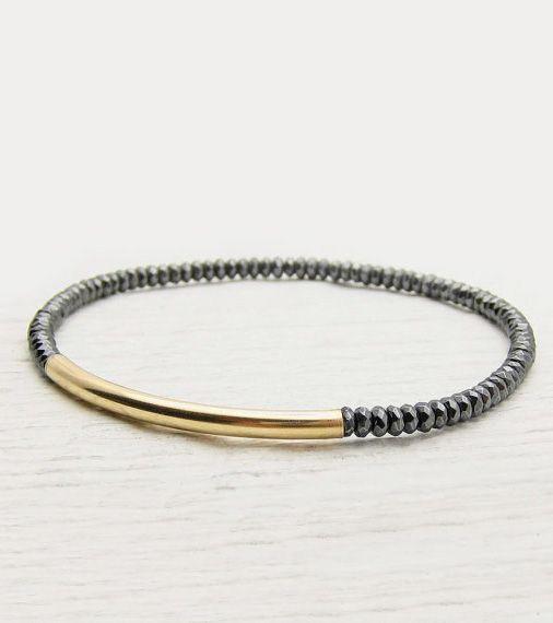 Image result for gold filled tube bracelet