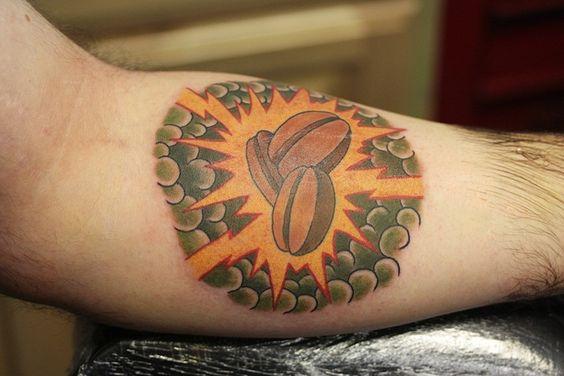 coffee bean tattoo :)