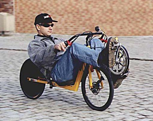 Si quieres montar una bicleta y viajar acostado te recomiendo usar ésta.