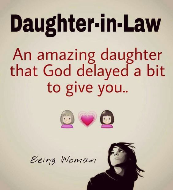 Daughter -in-law