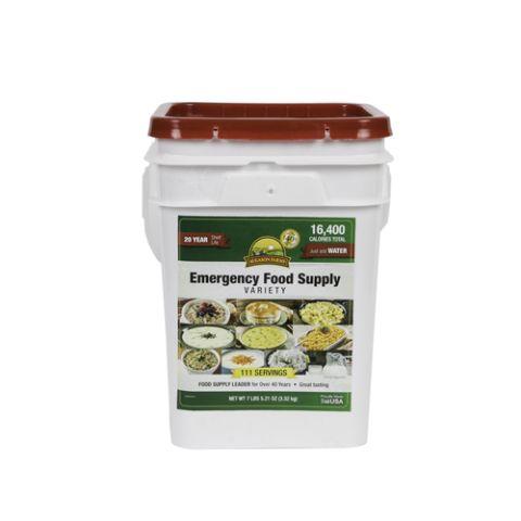 Augason Emergency Food Supply Variety Pail 4 Gallon Pail