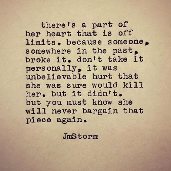 A part of her heart...: