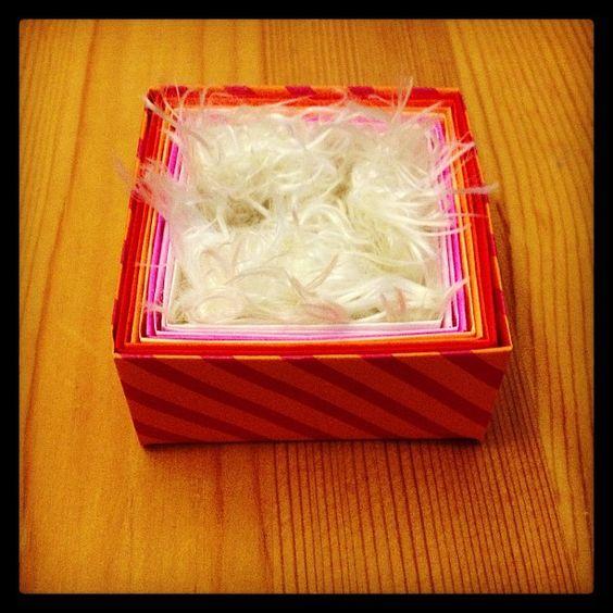 モッサモサ。#chinhako #origami - @chinhako- #webstagram