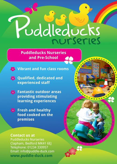 Nursery School Brochure