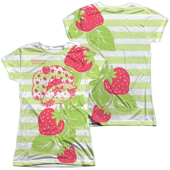 Strawberry Shortcake - Vines (Front - Back Print)