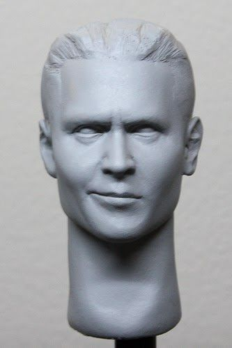 1/6th scale smirking Johnny Depp Dillinger