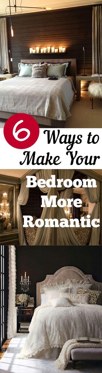 Best Romantic Bedrooms Ideas On Pinterest Romantic Master - Romantic bedroom decorating ideas pinterest