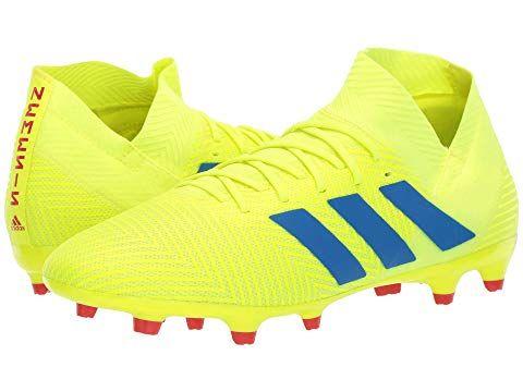 Solar Yellow Football Blue Active Red Adidas Originals Adidas Soccer Shoes