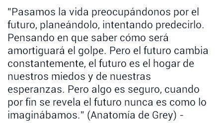 El futuro (Anatomía de Grey)