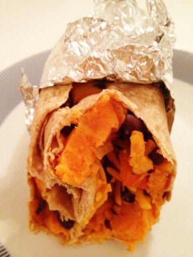 Sweet Potato Black Bean Burrito | Recipes | Pinterest | Black Bean ...