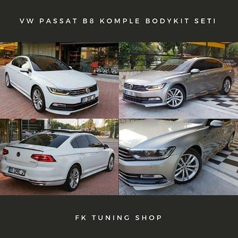 Volkswagen Passat B8 On Tampon Eki Yan Marspiyel Seti Arka Egzoz Gorunleri Arka Spoyler Tum Urunleri Stoklarimizda Mevcuttur Fiyat Volkswagen Araba Urunler