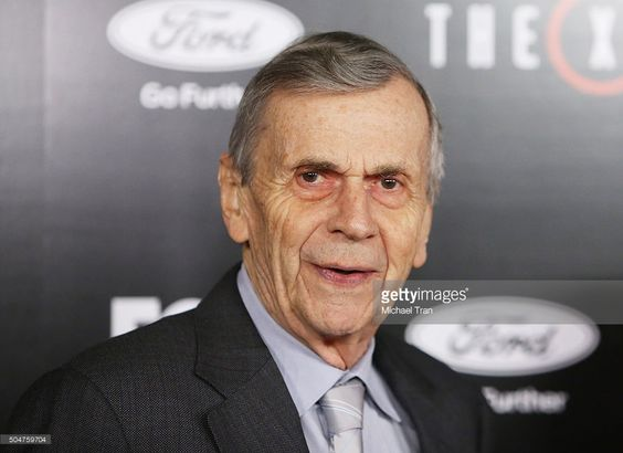 William B. Davis arrives at the Los Angeles premiere of Fox's 'The X-Files' held…