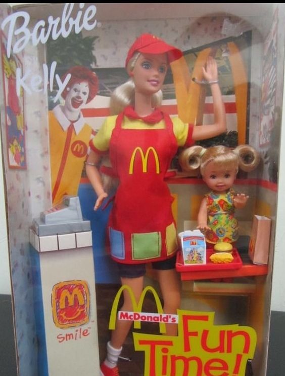 barbie and kelly mcdonalds barbie kelly amp stacie doll sets pinterest barbie and mcdonald s