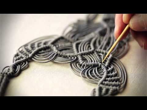 Beading4perfectionists : Bead end for Macramé (if you don't want to knot ends) beading tutorial - YouTube