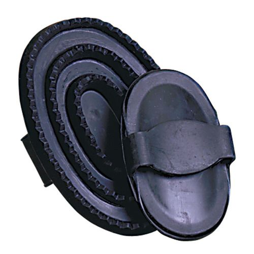 Black Rubber Curry - your most important tool in grooming and keeping your horse fungus free.