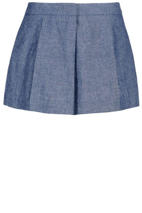 Elle Sasson shorts, $220, shopBAZAAR.com.   - HarpersBAZAAR.com
